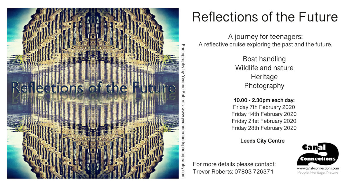 Poster for the Reflections course with meeting dates in February 2020